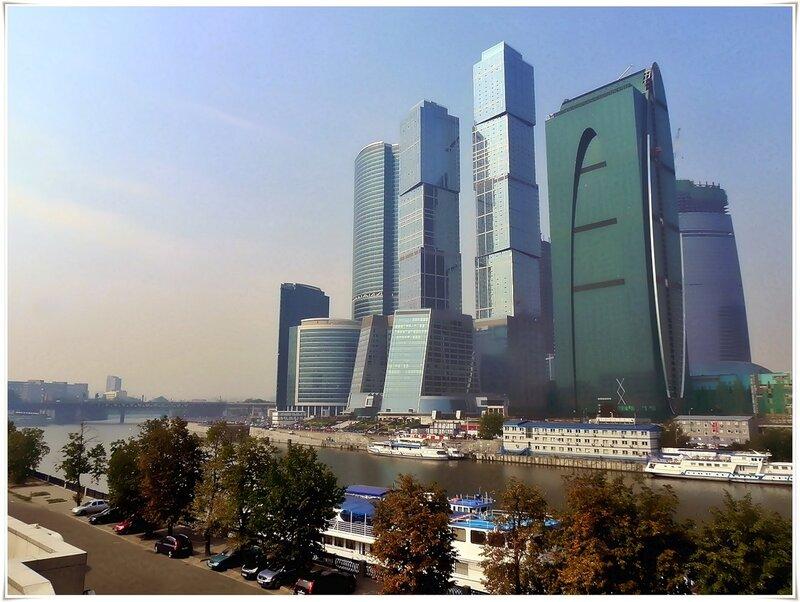 Москва-Сити (вид с набережной Т.Шевченко)