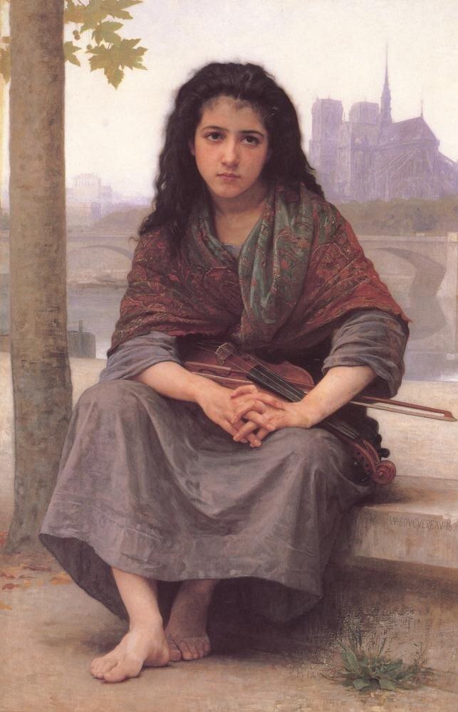 Бугеро, Цыганка, 1890 г.