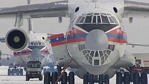 Самолёт МЧС доставит в Приморье 45 пожарных десантников