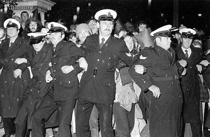Whitlam Dismasal Protest Melbourne 1976