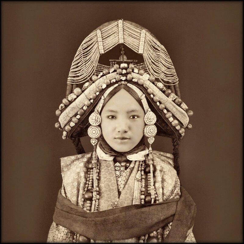 Тибетская принцесса 1879