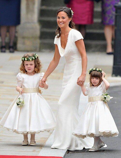 9. Подружка невесты (и по совместительству ее сестра) Пиппа Миддлтон с...