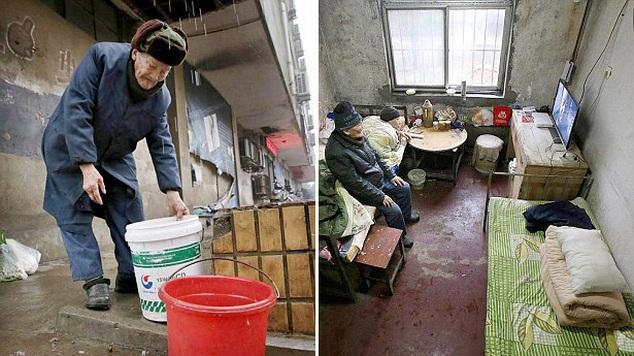 95-летний китаец  46 лет ухаживает за прикованным к постели сыном