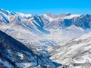 Зима в Горной Ингушетии