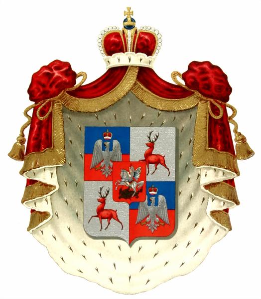 Родовой герб князей Шуйских, 1906г.