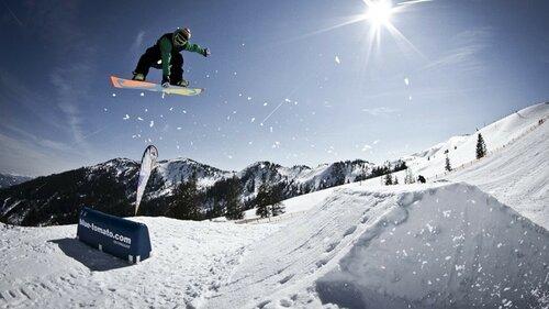 Фристайл в сноуборде