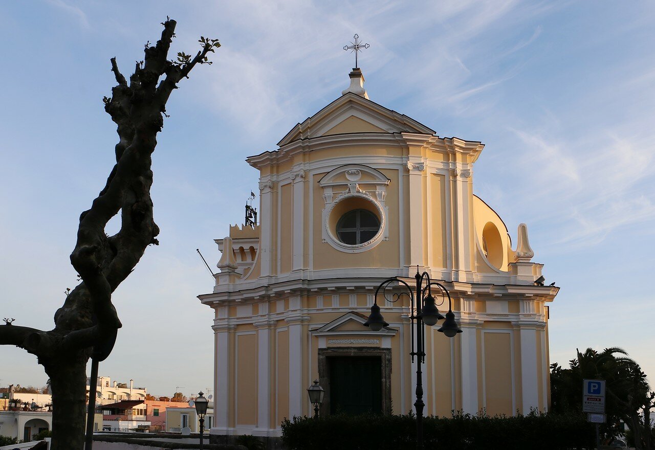 Ischia-Porto. Church Of San Pietro,