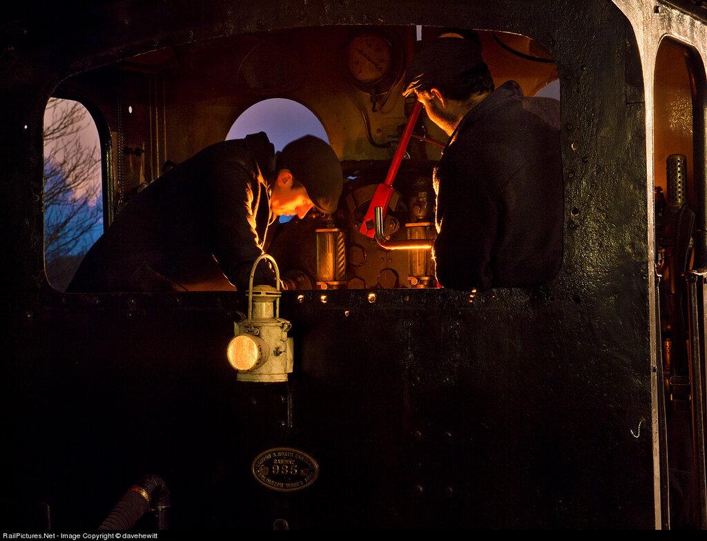 Locomotive Steam 0-4-0, Beamish Museum, Gateshead, United Kingdom, December 21, 2012
