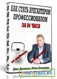 Книга Как стать бухгалтером-профессионалом за 24 часа от чайника до начальника.