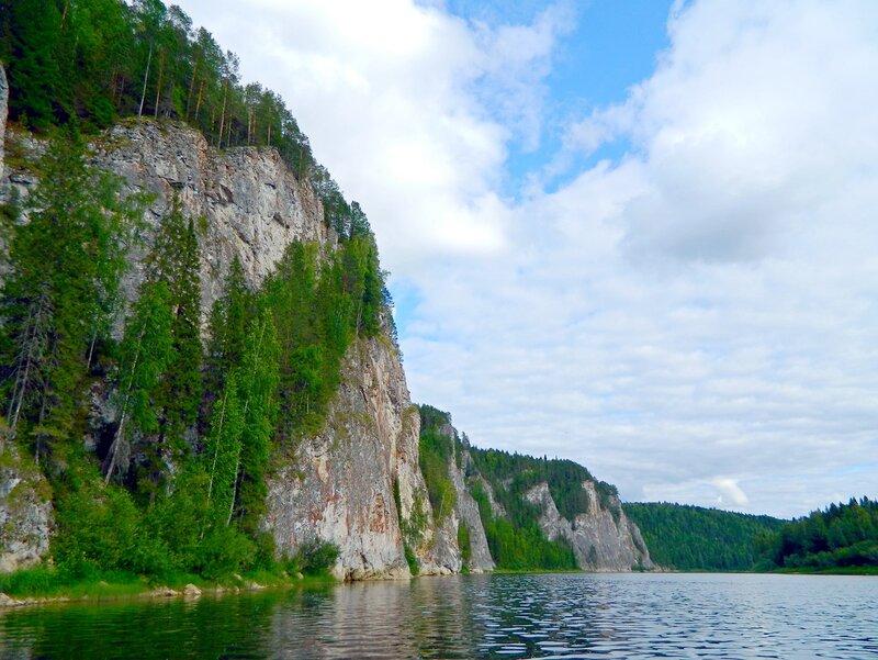 Скалы на Вишере
