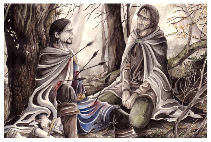 The Death of Boromir - peet