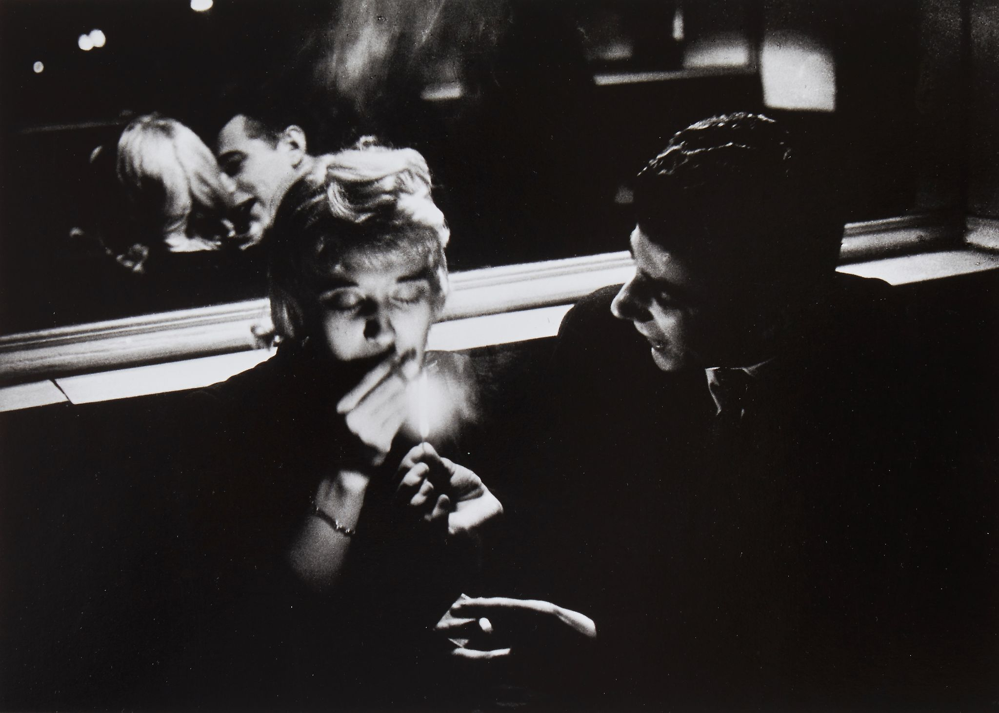 1957. Кафе «Le Bidule»