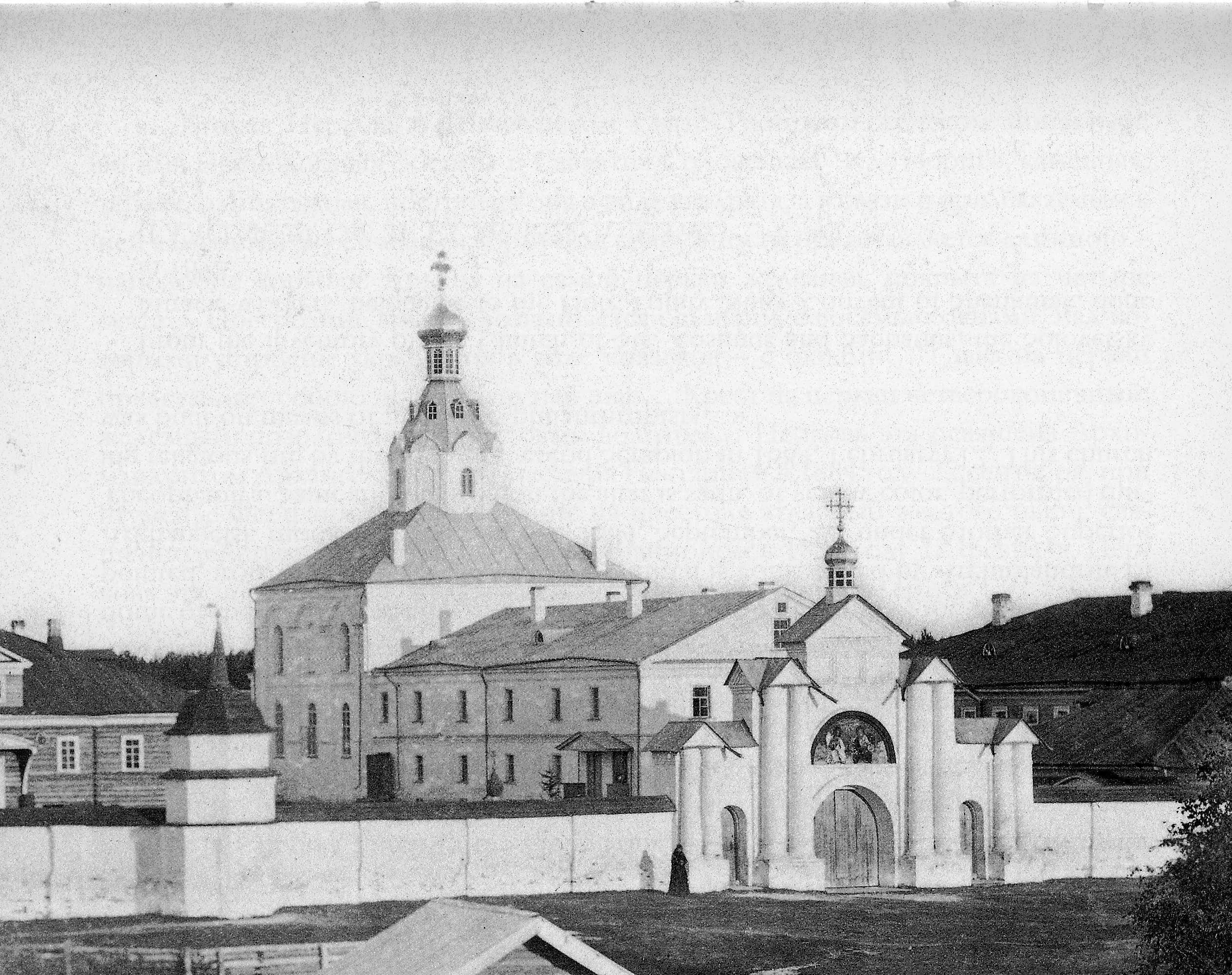 Свято-Троицкий женский монастырь. Церковь Преподобных Зосимы и Савватия Соловецких Чудотворцев