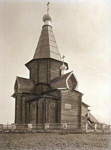 Окрестности Шенкурска. Село Ростовское. Церковь Флора и Лавра. Вид храм с северо-востока