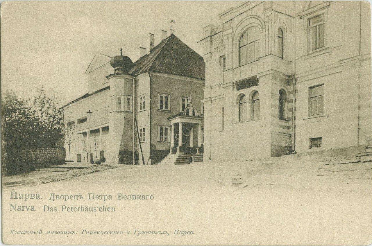 Дворец Петра Великого и дом Лаврецовых