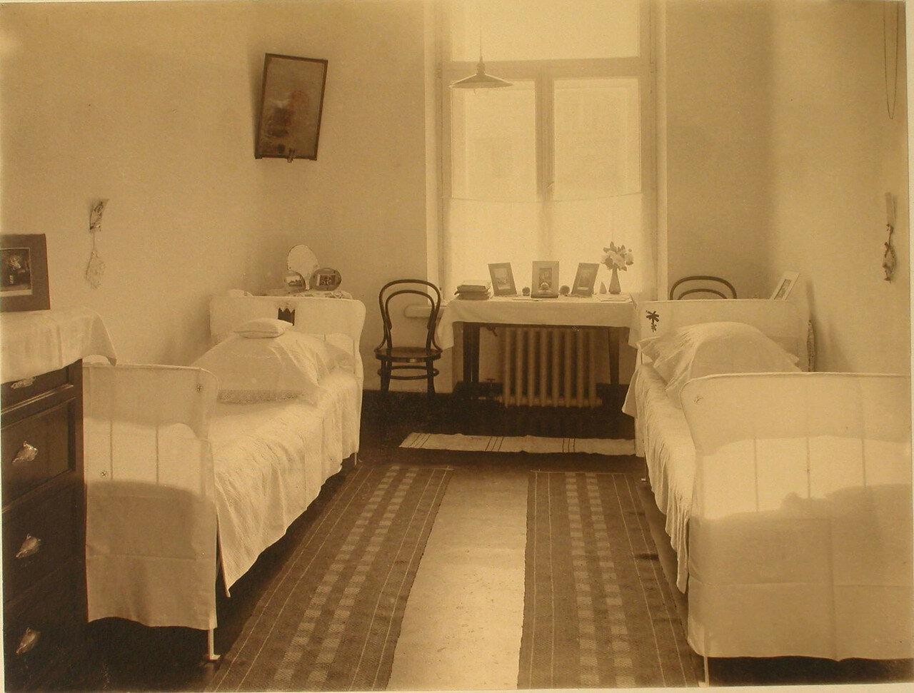20. Вид одной из комнат сестер милосердия