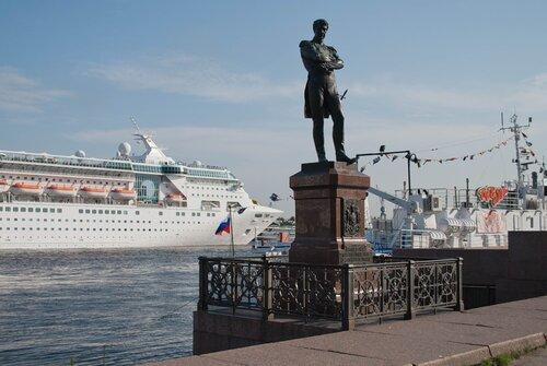 """Адмирал Иван Фёдорович Крузенштерн - человек и пароход"" ;-)))"