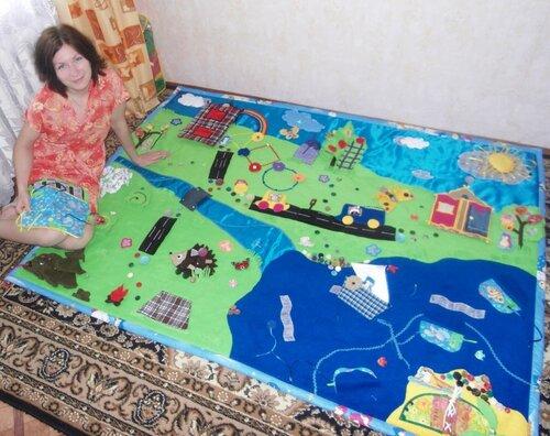 Большой игровой развивающий коврик Волшебная Страна ПИНГО-БИНГО и я, Елена Бикбаева