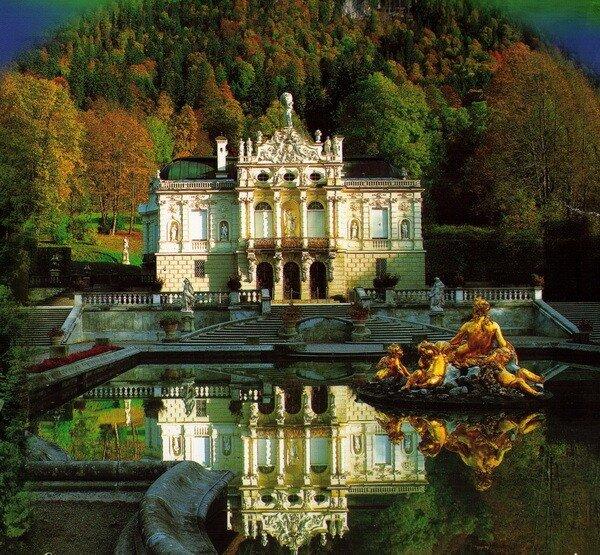"""Замок Линдерхоф / Linderhof - """"Альпийская Жемчужина"""" Людвига II"""