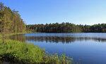 На озере Семеновское.