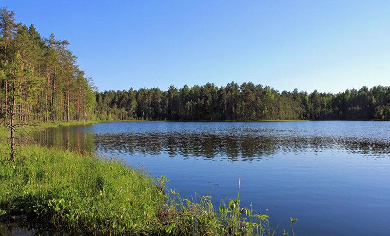 На озере Семеновское