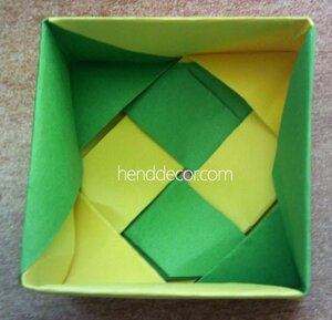 357Упаковка для подарка  оригами