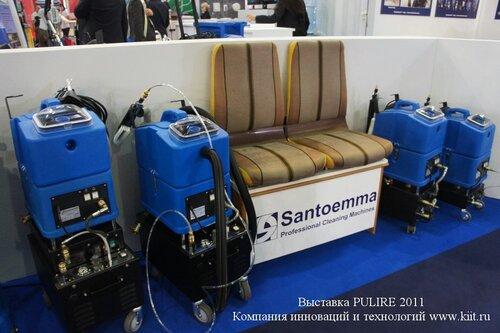 Универсальные аппараты SANTOEMMA для химчистки салона автомобиля