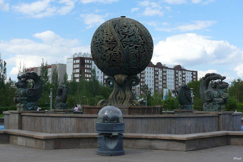 фонтан у Мин.Фина...