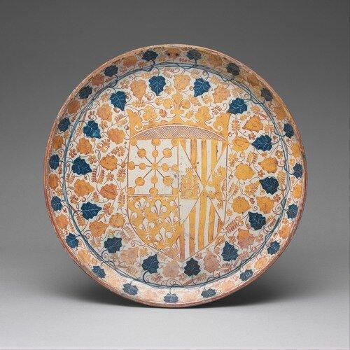 Тарелка с гербом Бланки I Наваррской