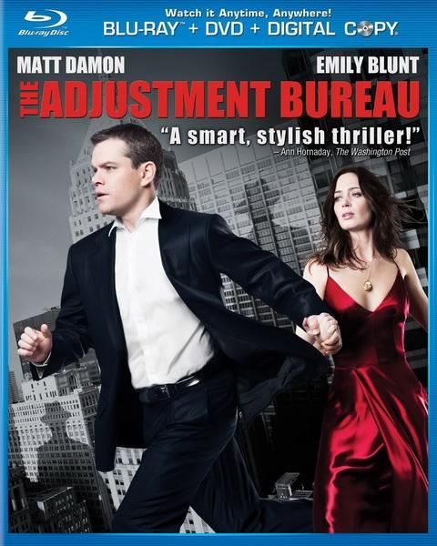 Меняющие реальность / The Adjustment Bureau (2011/HDRip)