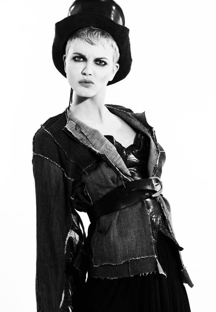 модель Мерет Хопланд / Merethe Hopland, фотограф David Wang