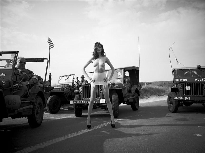 модель Николь Трунфио / Nicole Trunfio, фотограф Olivier Zahm