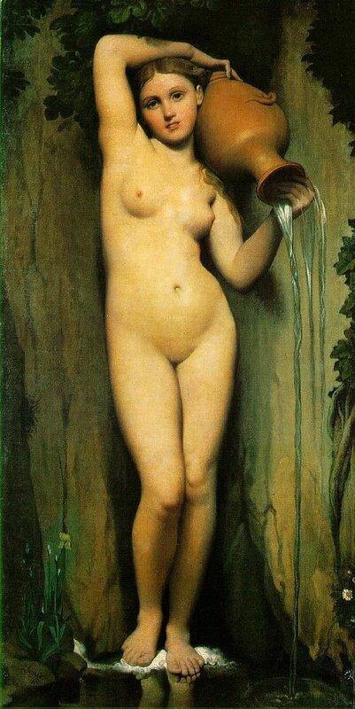 Энгр,«Источник»,1856 г.