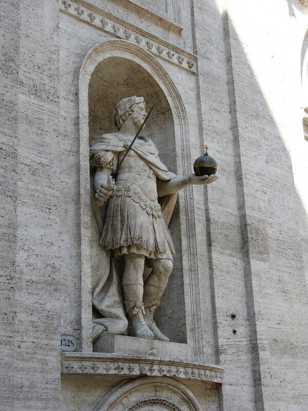 Рим. Церковь Сан-Луиджи-деи-Франчези ( Sancti Ludovici Francorum de Urbe)