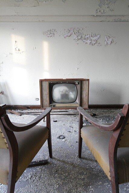 by John McNally.Abandoned Hotel.  Detroit.