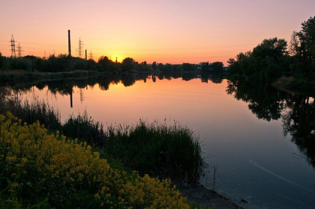 Озеро Андреевское(Богатырское)