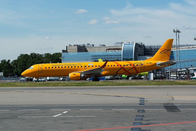 Embraer 190-200IGW (VQ-BRY) Saratov Airlines D808605a