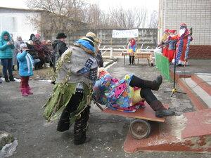 Незваные гости на празднике - Леший, Кикимора и Баба-Яга:)