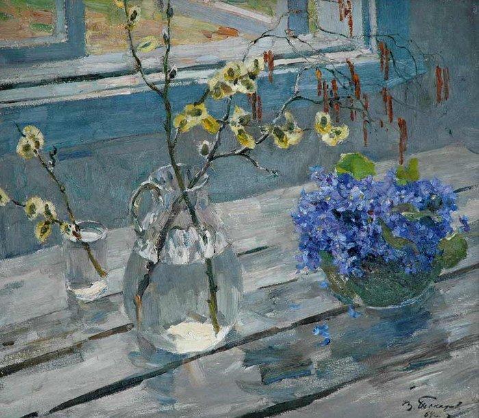 Владимир Токарев - Весенние цветы, 1964