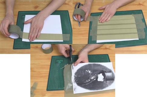 Как перенести рисунок с бумаги на любую поверхность (фото 1)