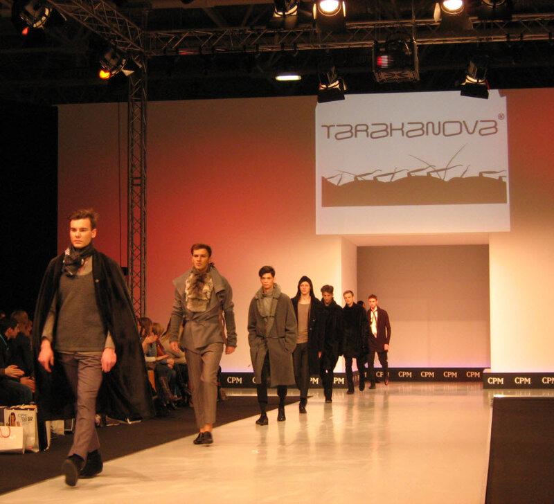 Tarakanova на выставке моды CPM 2012