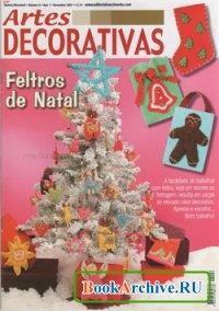 Журнал Artes Decorativas No.6 - Feltros de Natal