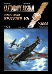 Журнал Журнал Spitfire Vb -Halinski Kartonowy Arsenal (1`2005)