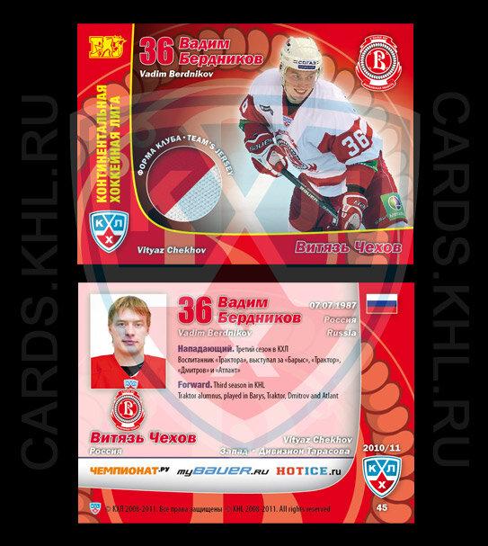 Эксклюзивные карточки - Лучшие игроки сезона 2010/11