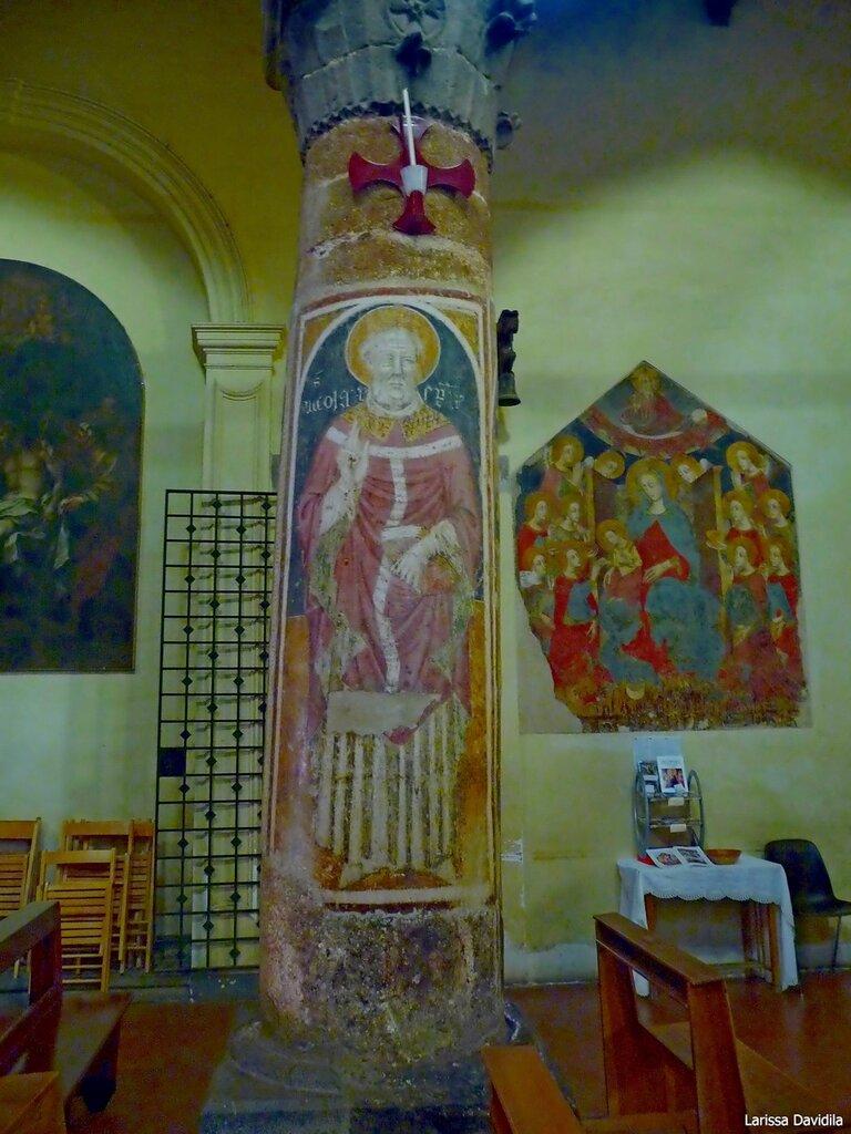 Фрески церкви Matrice Vecchia. Castelbuono.