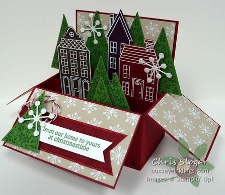 Новогодние сюжеты в коробочке