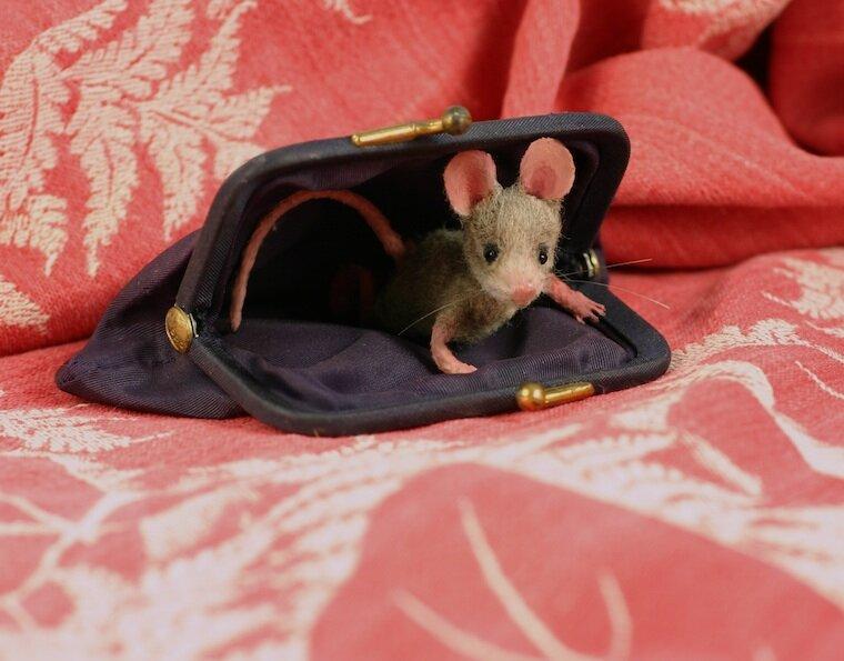 Кошельковая мышь как сделать