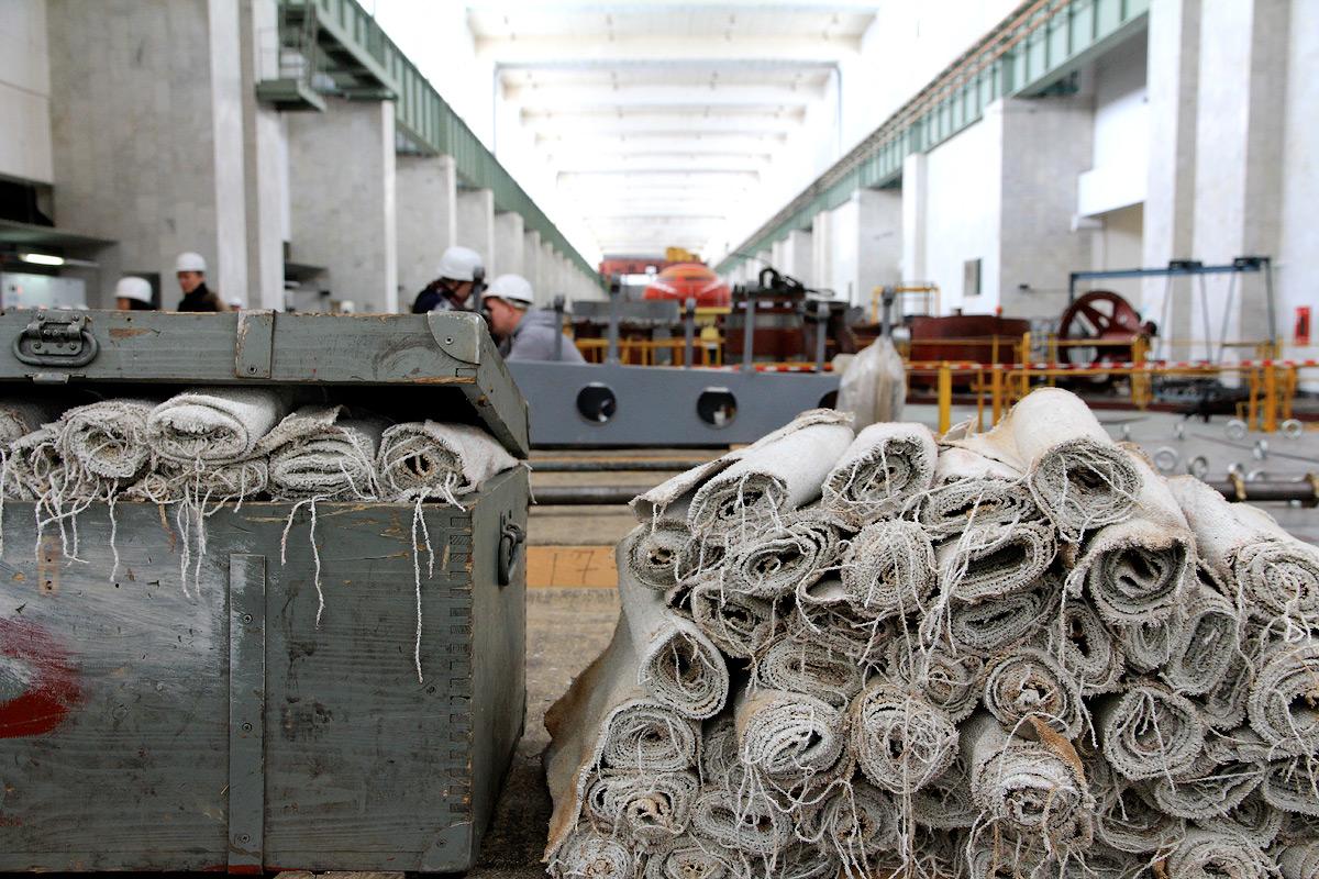 Чебоксарская ГЭС (27 февраля 2015)
