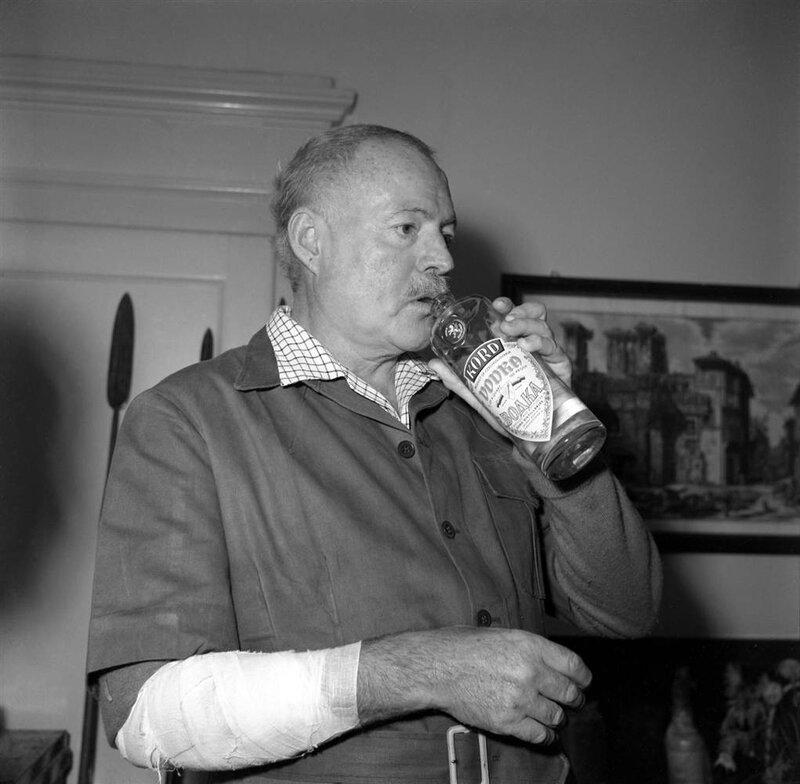 Эрнест Хемингуэй. Венеция, 1954 год.