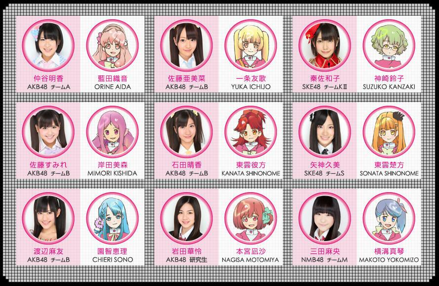 AKB48, АКБ48,аниме 2012, аниме весны 2012, адище, боевые роботы, выдры, исчадия ада, AKB48 Anime, AKB0048